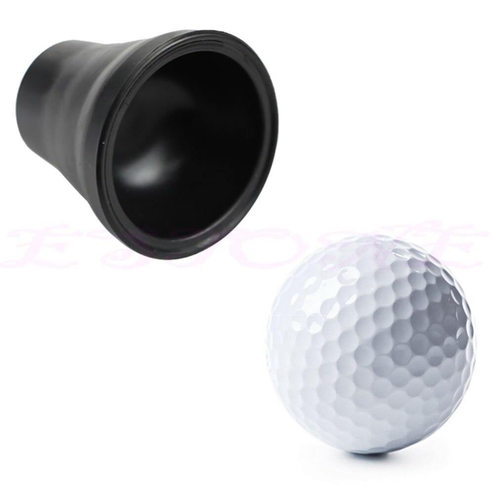 Tee de Golf Ball Pick Up Selector Para Caddy Lechón Ventosa Retriever Putter Gri