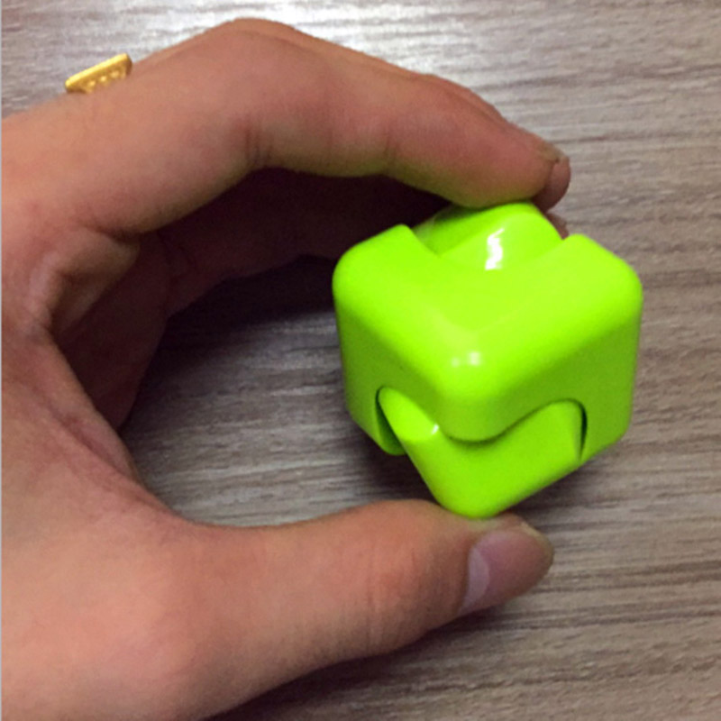 Fidget Infinity Cube Spinner Prime Finger Toy Pressure Reduction 3x3x3cm Hand Killing Time for Kids Adults Stress Anxiety ADHD