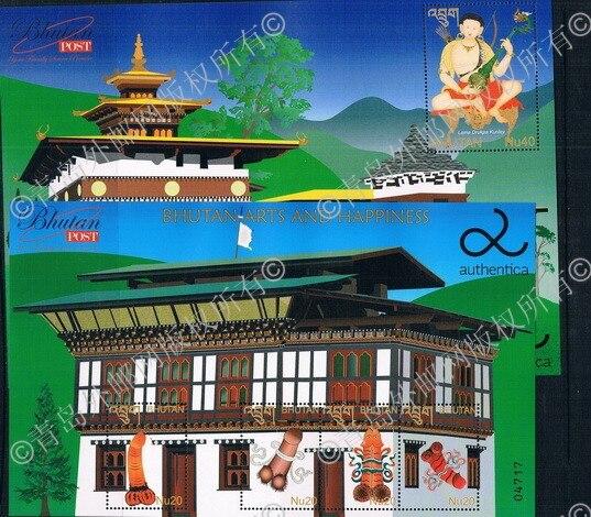 2013 Tibetan Buddhism temple Buddha AA1105 Bhutan reproduction worship 1 + 1 m new 0331 ms dairy cooperative in bhutan