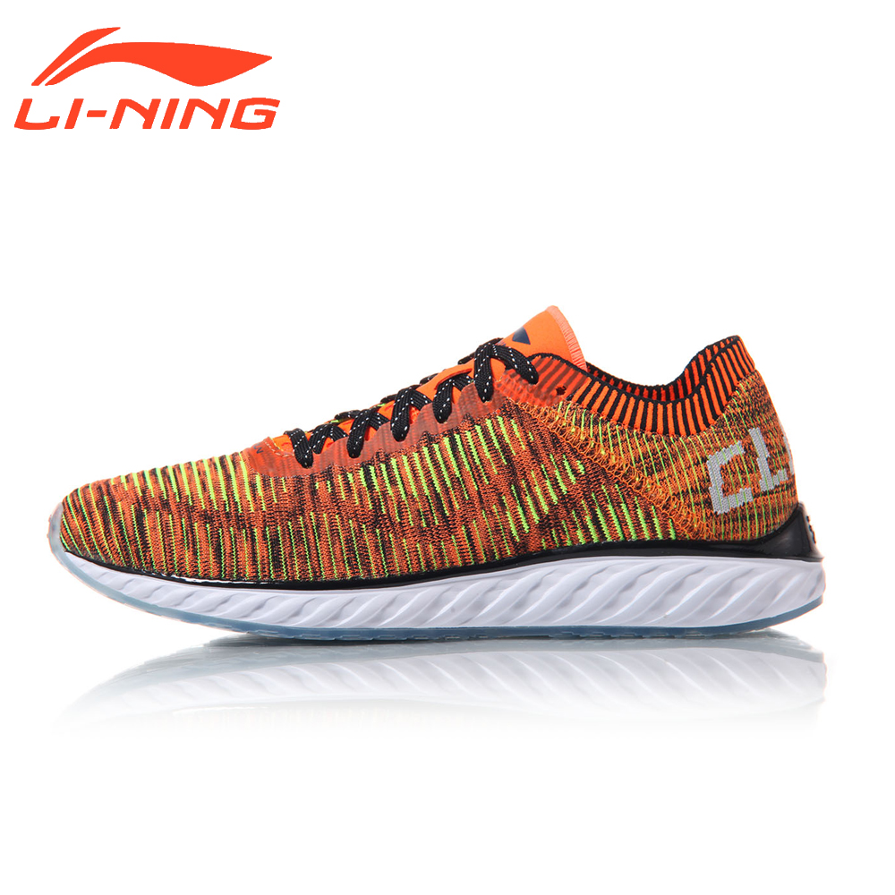 Li-Ning Men Running Shoes Light Weight DMX Cushion Sports Sneakers LiNing Cloud Technology Shoes ARHM025 original li ning men professional basketball shoes