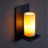 Contemporary Contracted Style Natural Marble Industry Cafe Wall Lamp Restaurant Light Corridor Light Lobby Light Free Shipping