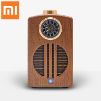 Xiaomi WISHALL Bluetooth Wireless woodiness Speaker 3D Stereo HIfi Audio device With luminous clock Support Bluetooth, AUX