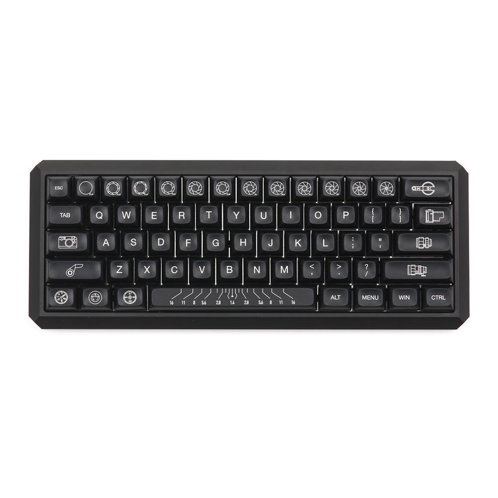 Kbdfans TEX ADA Keycaps Set  Compatible With Gk64 Tada68 Hhkb Layout Mechanical Keyboard