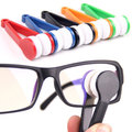 2PCS Microfiber Eyeglass Sunglasses Cleaner Brush Sun Glasses Cleaner For Glass Cleaning Limpiador Brochas Spectacles Tool