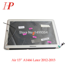 "100% Genuine New 2013 2014 2015 Year A1466 LCD Screen Assembly For Apple Macbook Air 13"" A1466 LCD Assembly 1440*900"