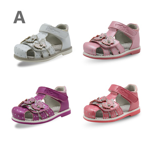 Image 2 - APAKOWA Lucky Package 3 Pairs Girls Shoes Summer Sandals Spring Autumn Shoes Color Randomly Sent for One Package EU SIZE 20 25