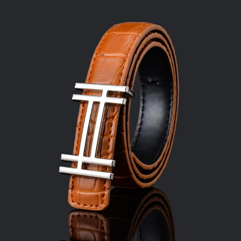 1psc Designer Luxury High Quality PU Child Belt Fashion Leisure Designer Children Belt Boys/girls Buckle Pants Belts Waist Belt