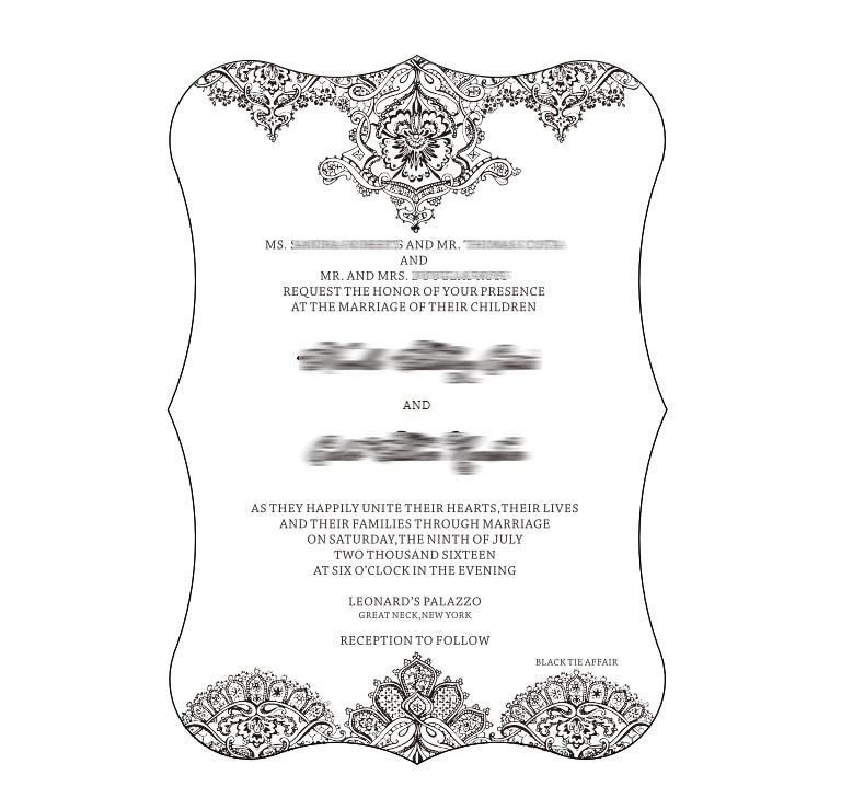 Přizpůsobené 4.75''X6.75''100pcs na dávku Scroll tvar jasné - Pro svátky a večírky
