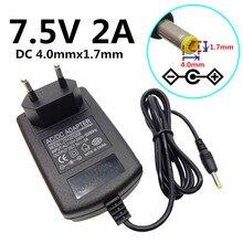Us Eu Uk Au Plug Universele 4.0 Mm * 1.7 Mm Ac Adapter Voeding Dc Dc 7.5V 2A Ac Adapter Voeding