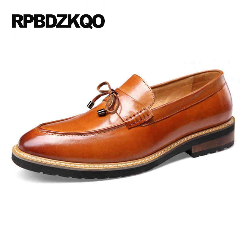 Loafers Flats Waterproof Comfort Fashion Genuine Leather Casual Brown Shoes Men Black Driving Slip On Work Hot Sale Stylish wonzom high quality genuine leather brand men casual shoes fashion breathable comfort footwear for male slip on driving loafers