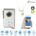 Video recording Wifi door intercom doorbell wireless wifi door phone without battery door camera with motion sensor