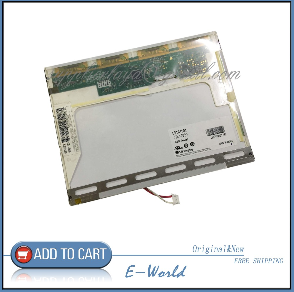 LB104S01 LB104S01(TL)(02) LP104S5(C1) LB104S01-TL02 LB104S01(TD)(01) LB104S01-TL01 Original 10.4 LCD Panel Screen Free Shipping 10 4 inch industrial lcd screen lb104s01 tl 01 tft lcd display panel lb104s01 tl01 lb104s01 tl01