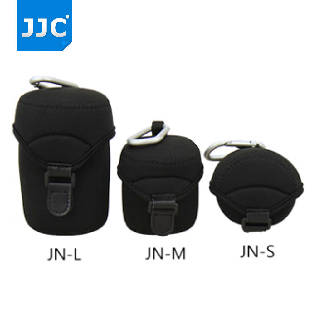 JJC Deluxe Neoprene Lens Case Lens Pouch Bag for Canon EF-M <font><b>18</b></font>-150mm <font><b>18</b></font>-55mm 55-<font><b>200mm</b></font> Sony E 10-18mm <font><b>Nikon</b></font> Mirrorless Camera image