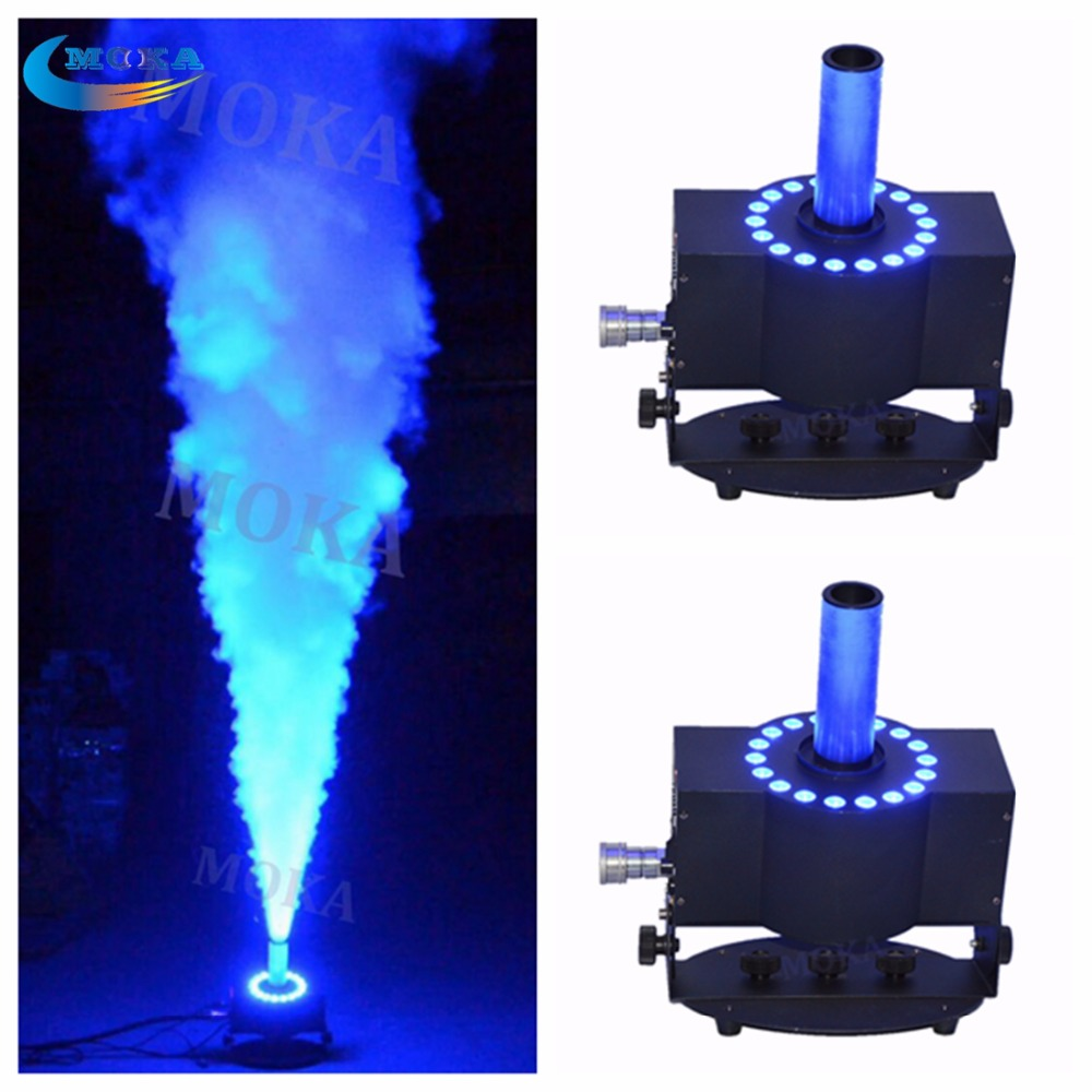Free-Angels Dj Equipment CO2 Jet Gun Machine RGB LIights Stage Cold Fog Effect For Outdoor/Indoor Parties Stages With High Power
