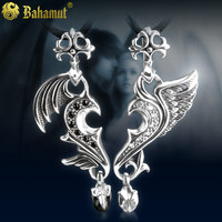 925 Silver Jewelry Accessories Angel Love Pendant Necklace Gift For Valentine Day