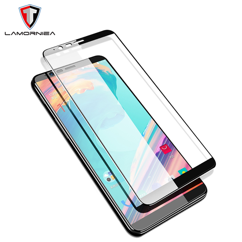 Lamorniea For Oneplus 5 Tempered Glass One Plus 5T Screen Protector Film For OnePlus 5T 2.5D Full Cover Glass For Oneplus 5 T 3T