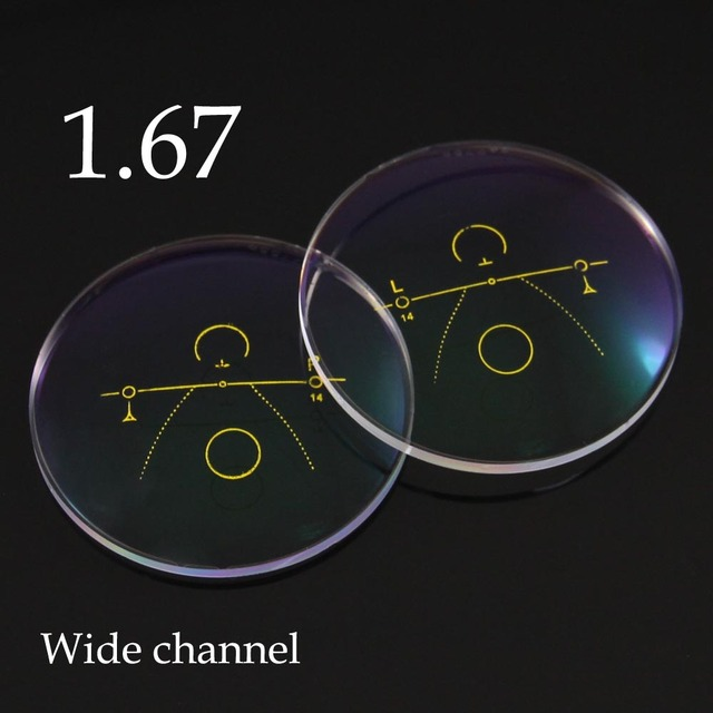 baa84fad5f31a Ultra Fino 1.67 Dentro Lentes Progressivas Lentes Multifocais Óculos de  Condução Óculos de Leitura Vidros Ópticos