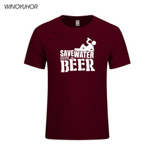 """Save Water Drink Beer"" Men's T-Shirt / 20 Colors"