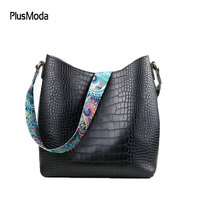 Brand Women Handbags Hobo Bag Crocodile Handbag Women's Shoulder Bags Hobos Large Capacity Shopping Bag Printing Purse