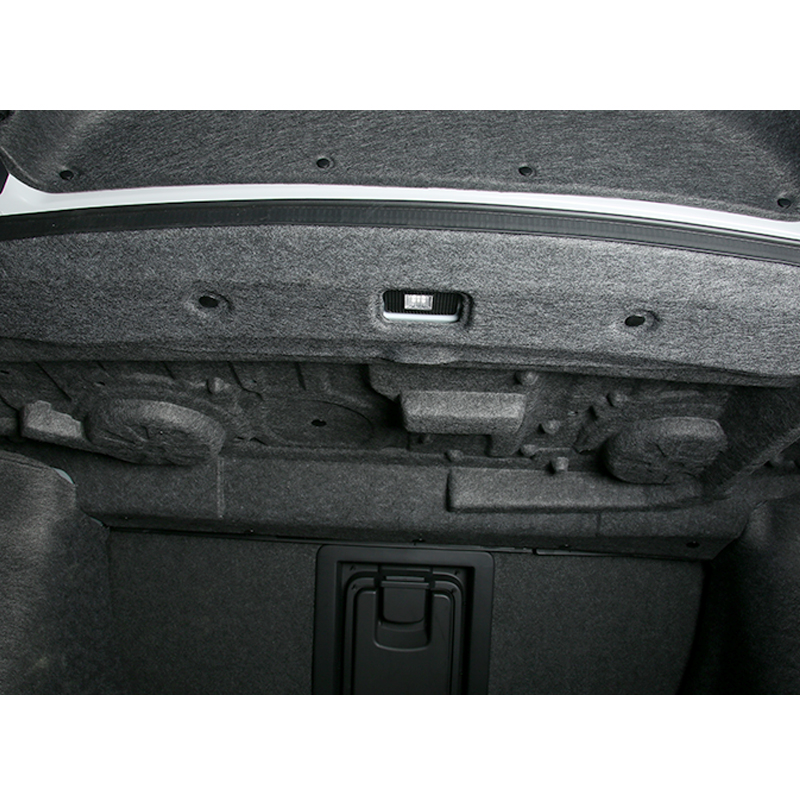 Pour Honda Accord 10th 2018 2019 coffre de voiture insonorisé coton tapis autocollant Protection 1 pièces/ensemble - 3