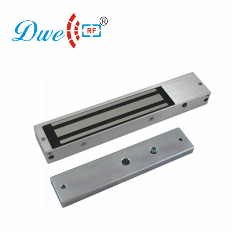 DWE CC RF Access Control Kits 280KG Magnetic Lock for Glass Door Electric Lock with 280KG Lock Bracket DW-280 dwe cc rf access control door lock low temperature standard electric bolt invisible door lock
