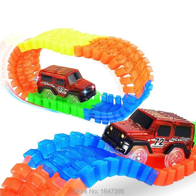Puzzle Race Car Track