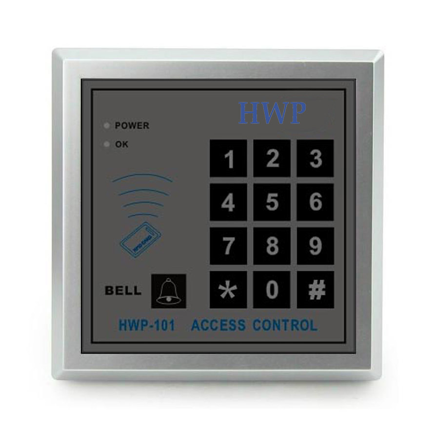 500 users Keypad Access Control RFID Proximity Door Access Control System 125KHZ 5 cards free 5 pcs keypad for rfid access control system proximity card standalone 2000 users door access control waterproof metal case f9501