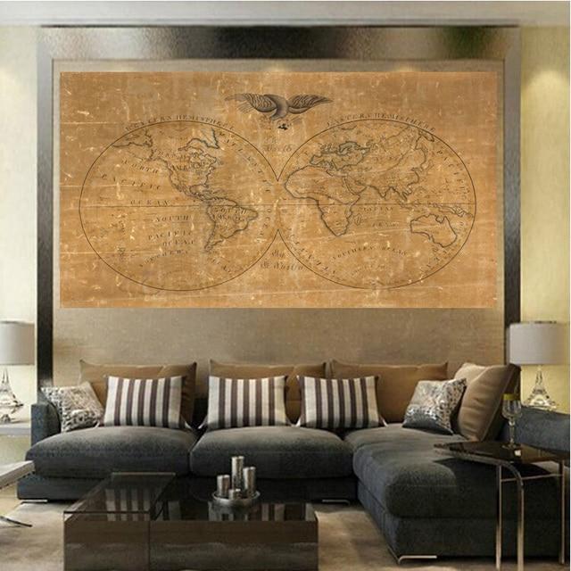 peinture déco hemisphere sud