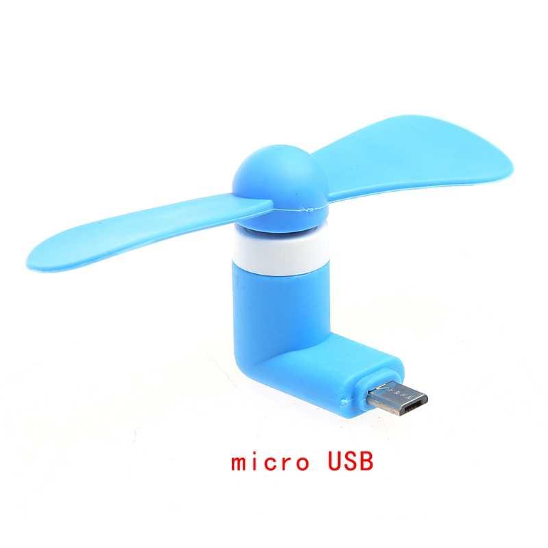 ミニマイクロ USB OTG 冷却ファンアンドロイドスマートフォンのためのサムスン、 LG 、 HTC Huawei 社