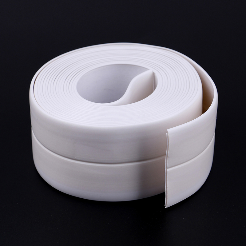 3.2M PVC Tape Kitchen Bathroom Wall Sealing Waterproof Mold Proof Adhesive