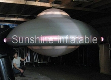 Custom giant inflatable UFO balloon for event decoration(China)