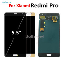 "5.5"" Original LCD Redmi Pro LCD display Touch Screen Digitizer Replacement for Redmi Pro Display Screen original 2 2inch wd f1722wn fpc 1 rev 2 lcd screen for garmin edge 705 gps bike computer lcd display screen panel replacement"