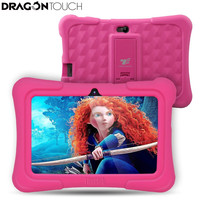 Ejderha Dokunmatik Yeni 7 inç Çocuk Tablet PC Quad Core 8G ROM Android 5.1 Çocuklar için Çocuk Apps Çift Kamera Ile PED