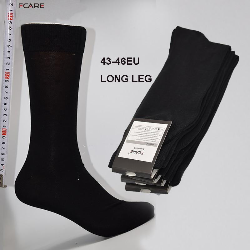 Fcare 8PCS 4 pairs 43 44 45 46 font b long b font leg business socks