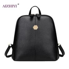 2017 Fashion Women Backpack High Quality PU Leather Backpacks for Teenage Girls Female School Shoulder Bagpack mochila escolar