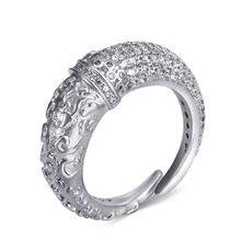 Уникальный дизайн кольцо медные ювелирные изделия металл в белом