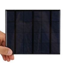 3.5W 6V Mini Solar Panel Portable Polycrystalline DIY Power Bank Charger 165*135*3mm