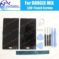 DOOGEE MIX LCD Ekran + Dokunmatik Ekran Meclisi % 100% Orijinal DOOGEE MIX + Araçları Için LCD Digitizer Cam Panel Değiştirme