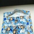 Envío gratis 2013 hot doble bolsillo del pañal mojado / seco bolsa bolso del panal reutilizable