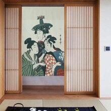 Японский Тип Cretive Раздел Занавес Ткань Двери Висит Занавес Японский Горничной Дверной Занавес