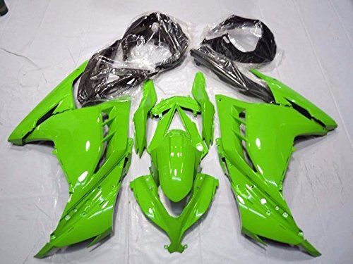Green Complete Fairing Cowl Kit Injection for 2013-2015 Kawasaki Ninja 300 2014 EX300R EX-300RGreen Complete Fairing Cowl Kit Injection for 2013-2015 Kawasaki Ninja 300 2014 EX300R EX-300R