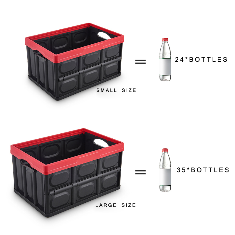 Image 5 - E FOUR Car Fresh Transport Box Fruit Live Fish Ice Frozen Water Dry Bag Case Vehicle Trunk Storage PP Box Folding Accessory Cars-in Rear Racks & Accessories from Automobiles & Motorcycles