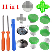 Green Magnetic Thumbsticks Grips For Dualshock 4 PS4 Slim Pro Control Swap Analog Stick Kit For