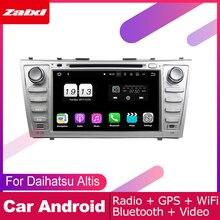 ZaiXi For Daihatsu Altis 2006~2011 Car Android Multimedia System 2 DIN Auto DVD Player GPS Navi Navigation Radio Audio WiFi