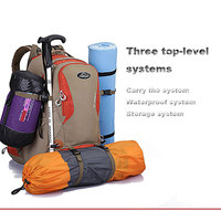 Multi Function Rainproof Cover Travel Hiking Backpack Camping Climbing Rucksack Mountaineering Hiking Cycling Outdoor Sports Bag