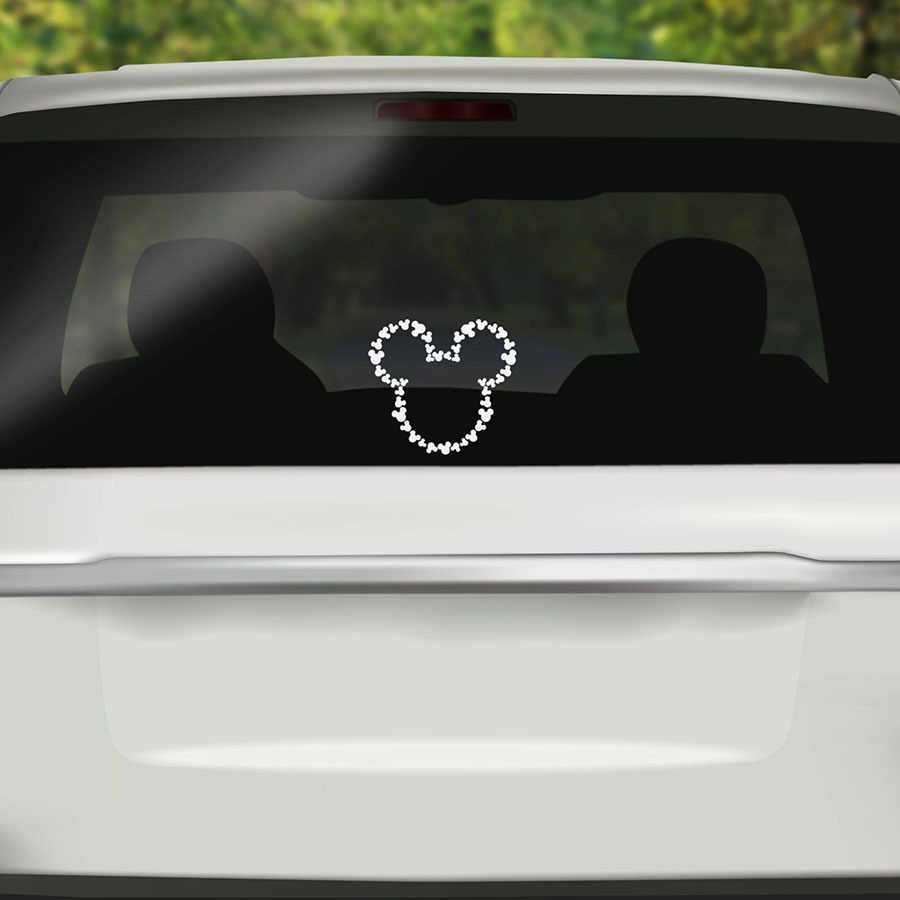 Detail feedback questions about funny car sticker cute mickey mouse cover scratches cartoon window decal for motorcycle vw bmw e46 ford focus on