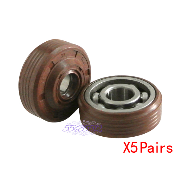 Crankshaft Bearings & Oil Seals Fit HUSQVARNA 136 137 141 142 235 Chainsaw X10