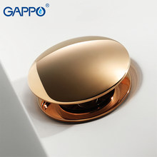 GAPPO Riool anti-geur badkamer basin drains douche sink drains chrome stekkers pop up douche drain stoppers(China)