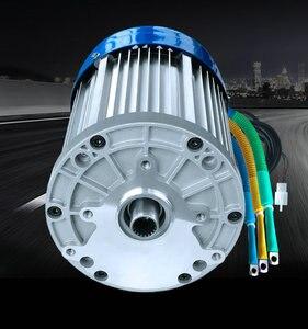 60 в/72 в 3000 Вт 4600 об/мин постоянный магнит бесщеточный двигатель постоянного тока Дифференциальная скорость электромобилей, станки, DIY аксесс...