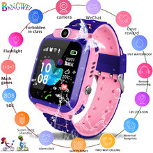 Smart watch LBS Kid SmartWatches Baby Watch for Children HD camera SOS Call Location Finder Locator Tracker Anti Lost Monitor(China)